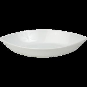 Alus ovaalne 22x14cm, valge, Merx