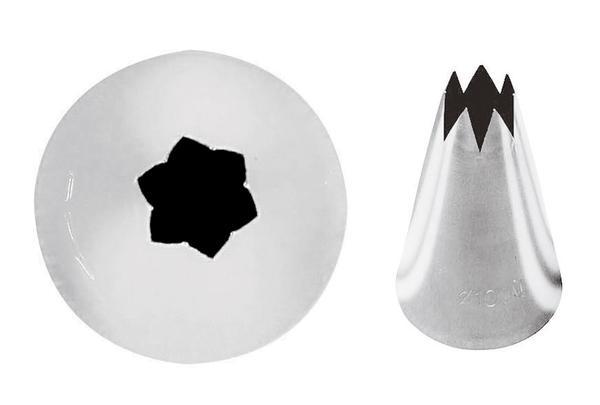 Kondiitriotsik täht 6mm 6tk