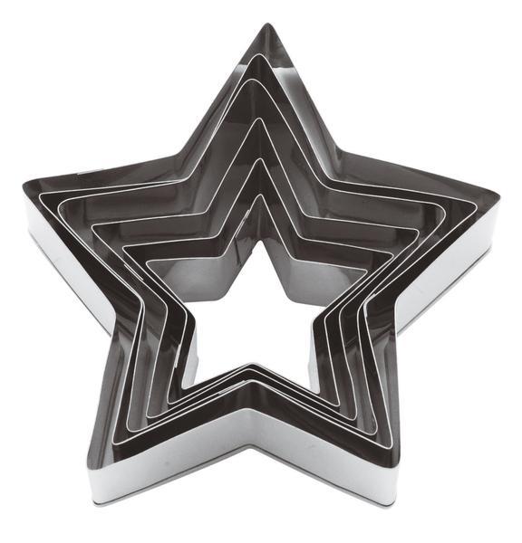 Lõikevormid täht 6tk