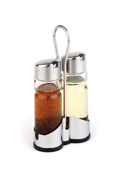 Õli/äädika pudel komplekt 0,2l