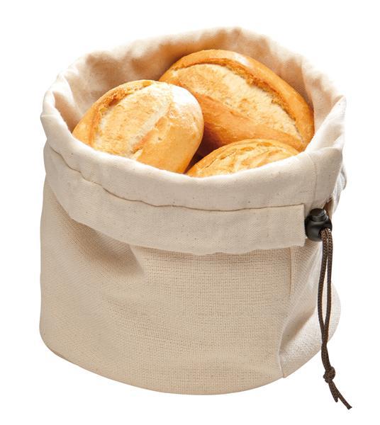 Puuvillast leivakorv Ø 19cm