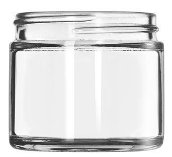 Klaaspurk 7,4cl Ø5,4 kõrgus 4,8cm (kaas 92156)