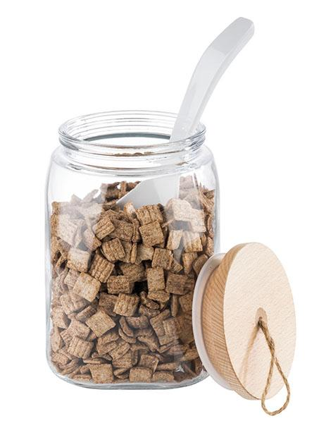 Purk puidust kaanega 2,5l