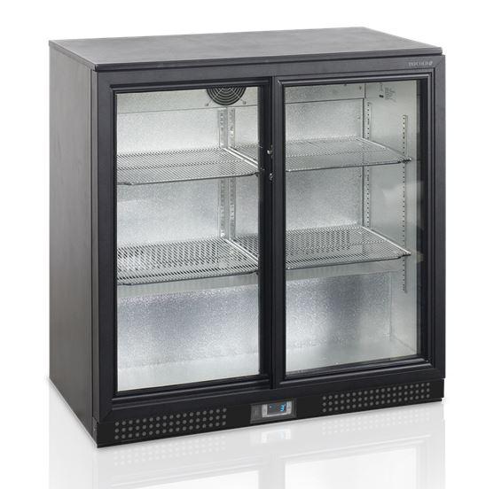 Baarikülmik klaasustega 188L, Tefcold