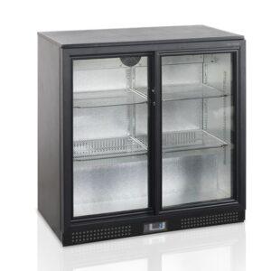 Baarikülmik klaasliugustega 183L, Tefcold